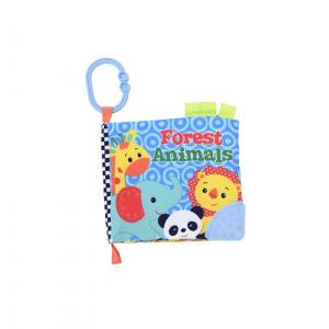 Carticica interactiva pentru bebelusi, Animale salbatice
