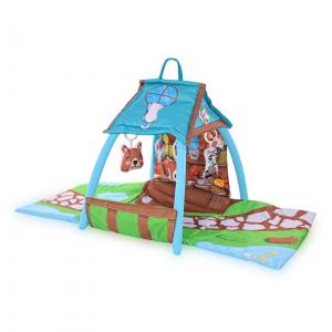 Saltea de activitate tip casuta, Little House, 113x56x53 cm