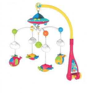 Carusel muzical pentru pat, cu proiector, lumini si sunete, Proiector Sky
